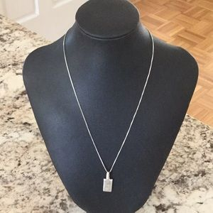 Jewelry - Contemporary sterling silver necklace